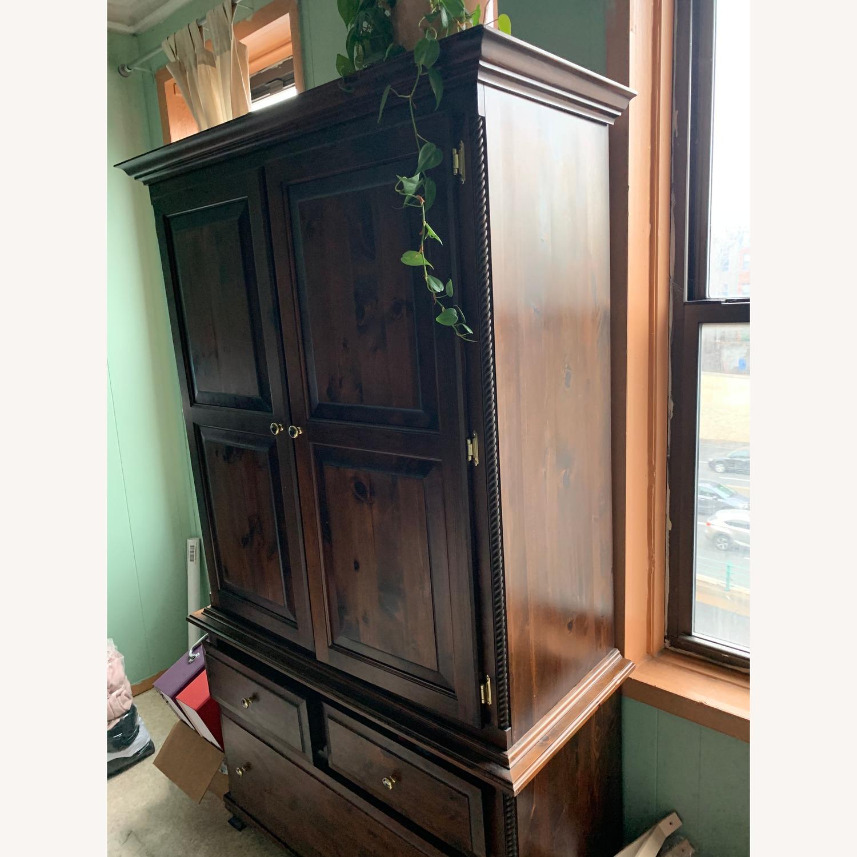 Custom Solid Wood 2-piece Armoire - image-2