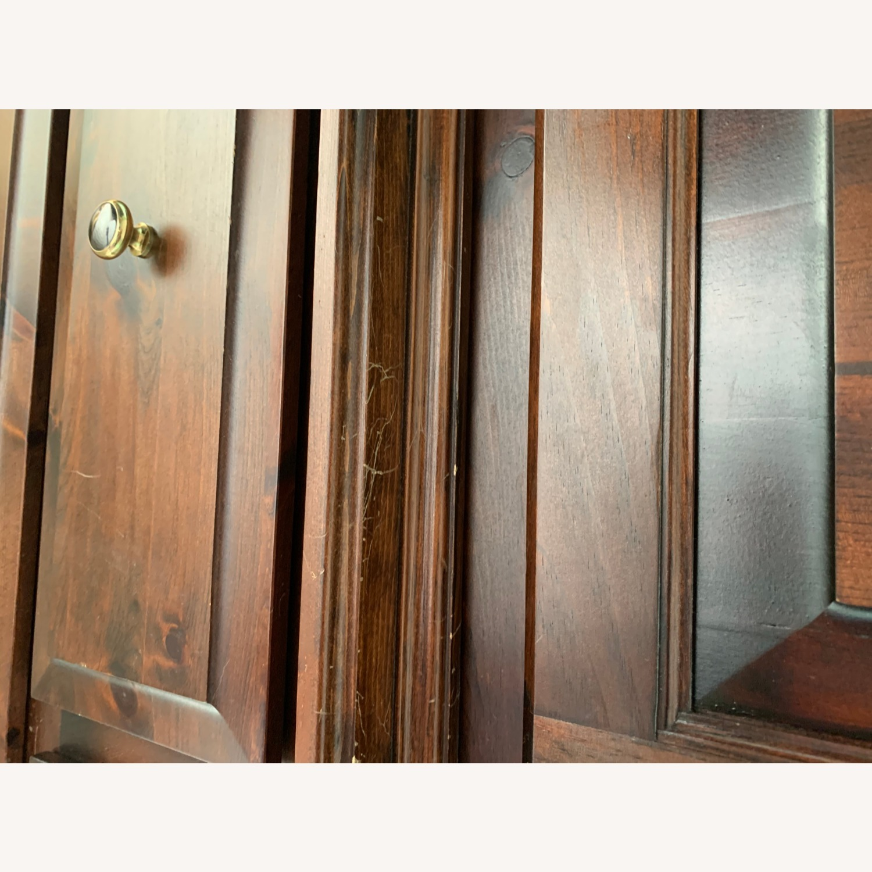 Custom Solid Wood 2-piece Armoire - image-6