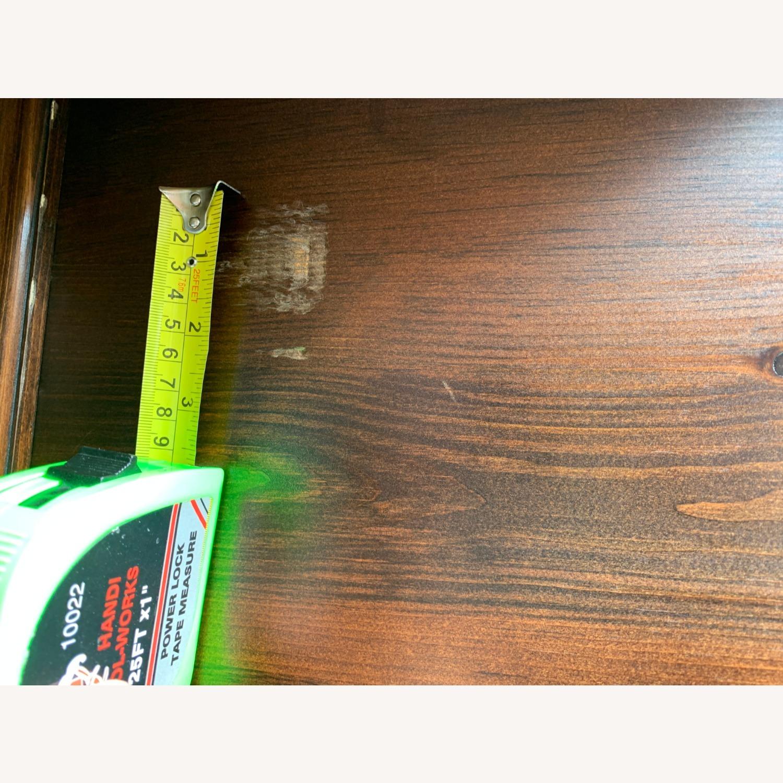 Custom Solid Wood 2-piece Armoire - image-8