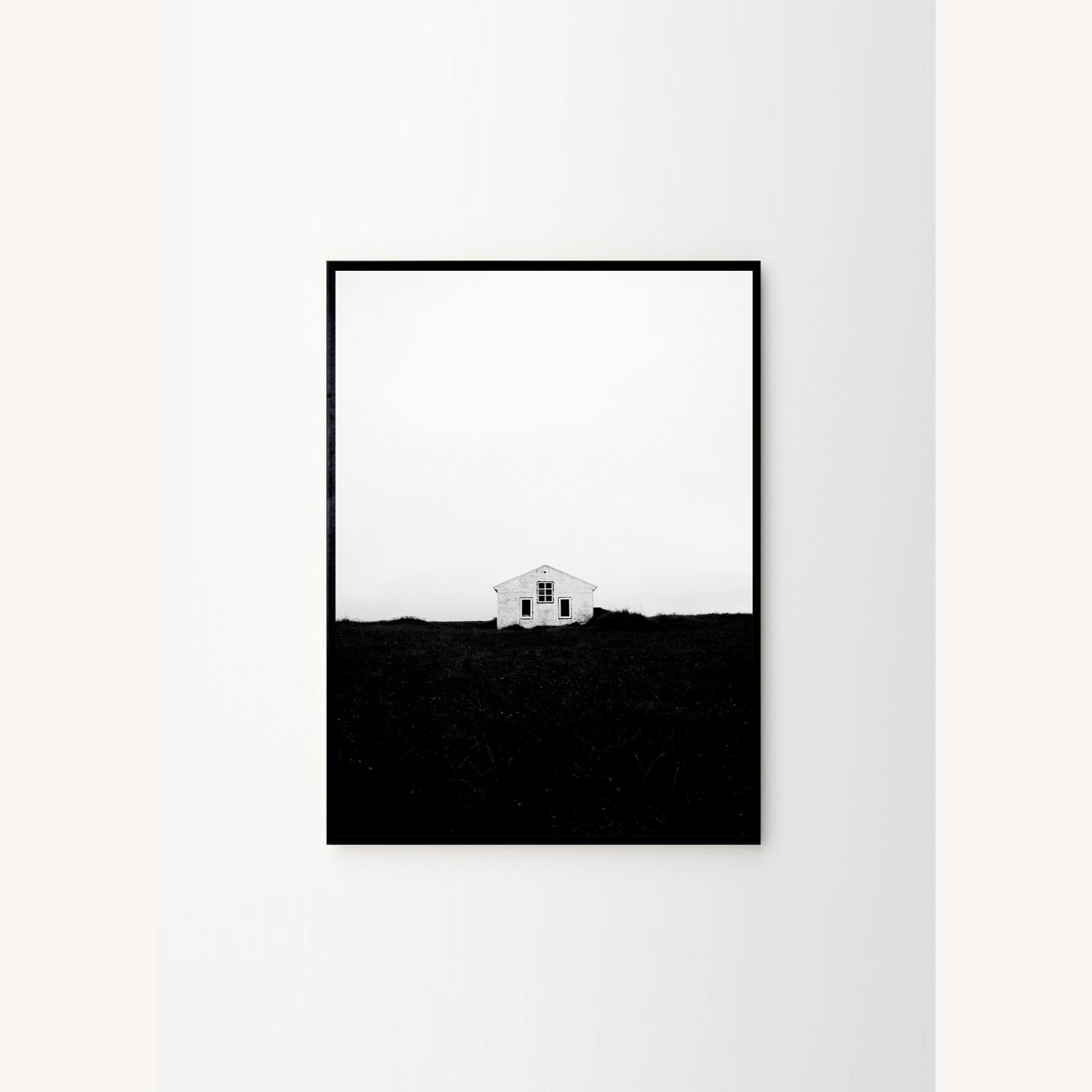 The Poster Club Lonely House Print, Framed