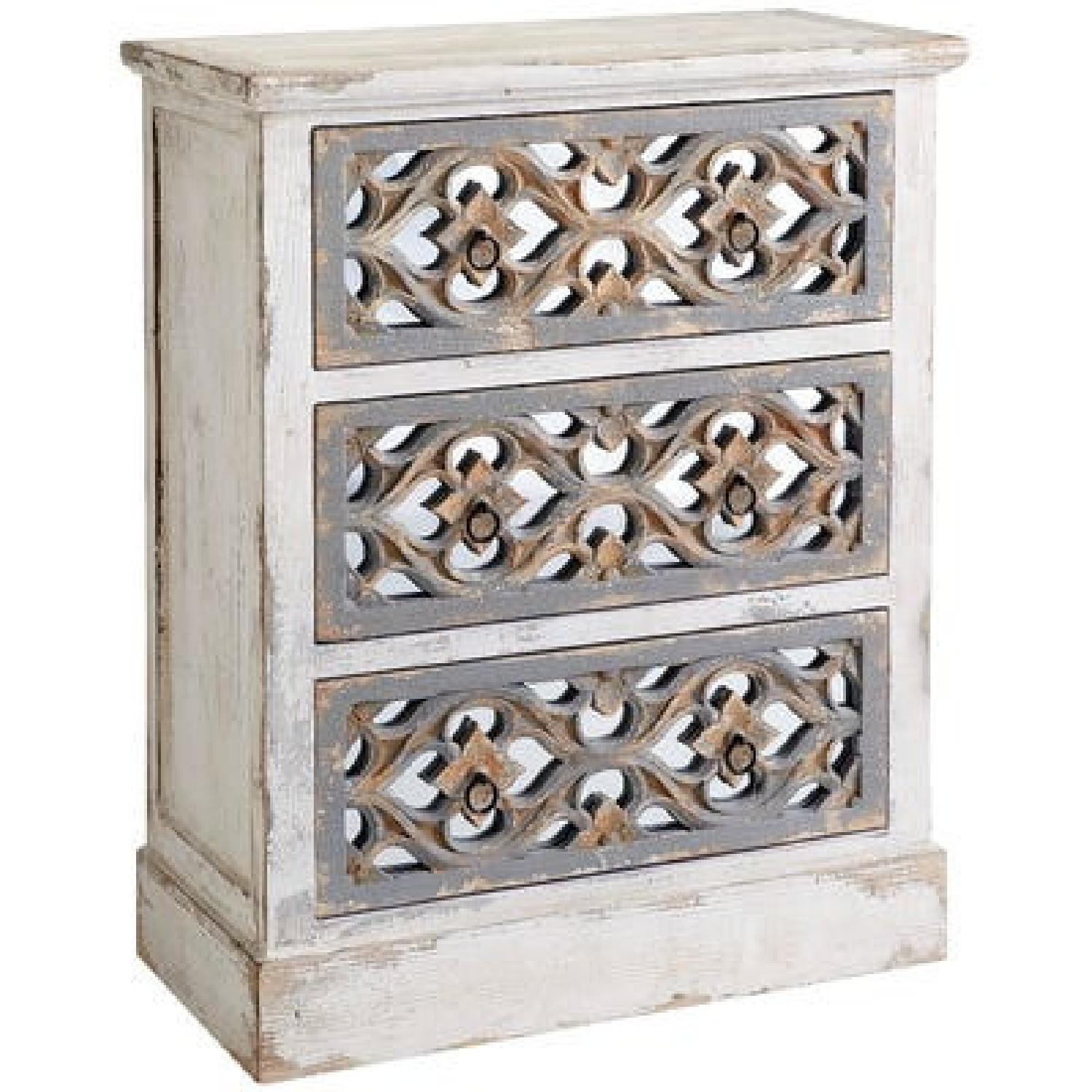 Pier 1 Cosette 3-Drawer Chests - image-0