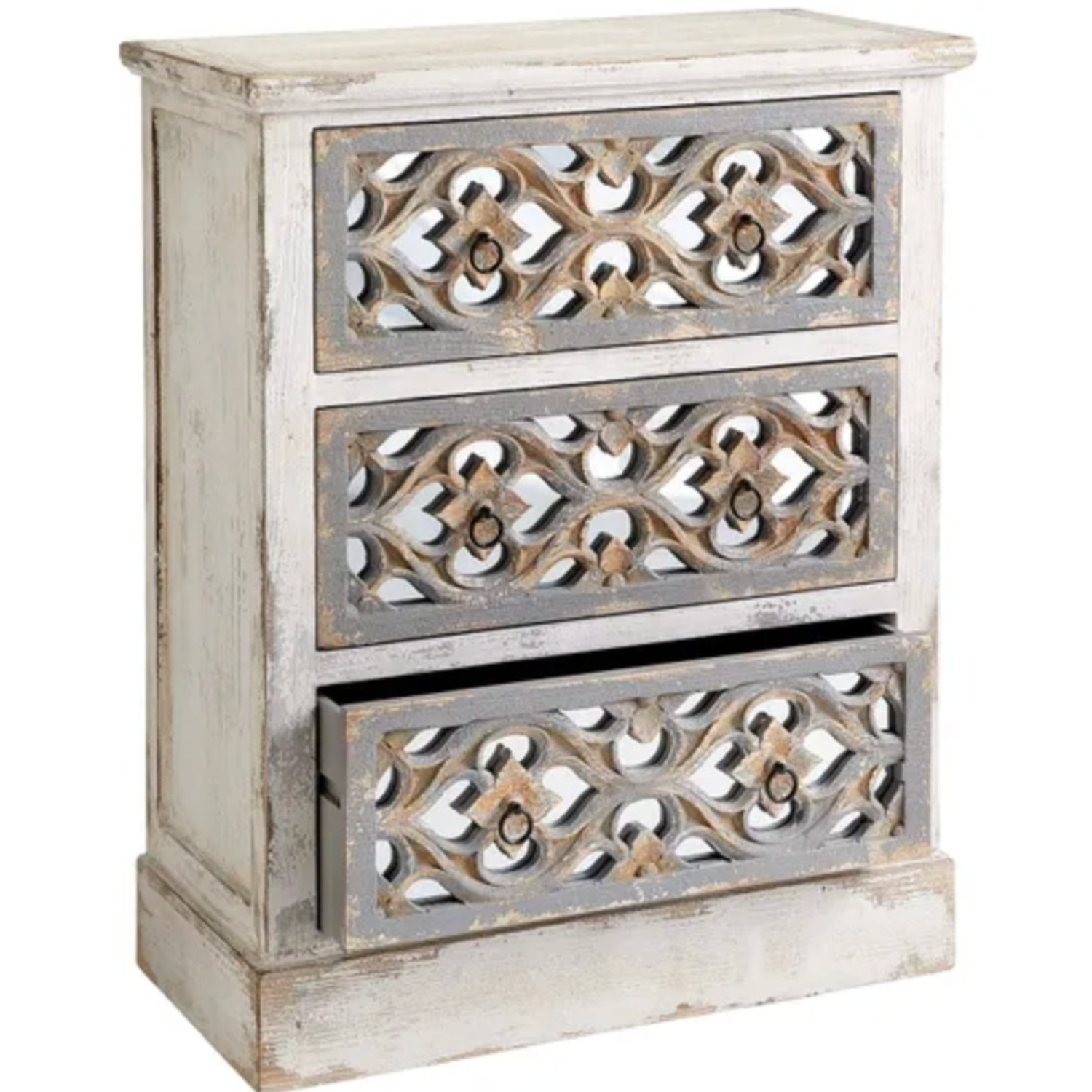 Pier 1 Cosette 3-Drawer Chests - image-1