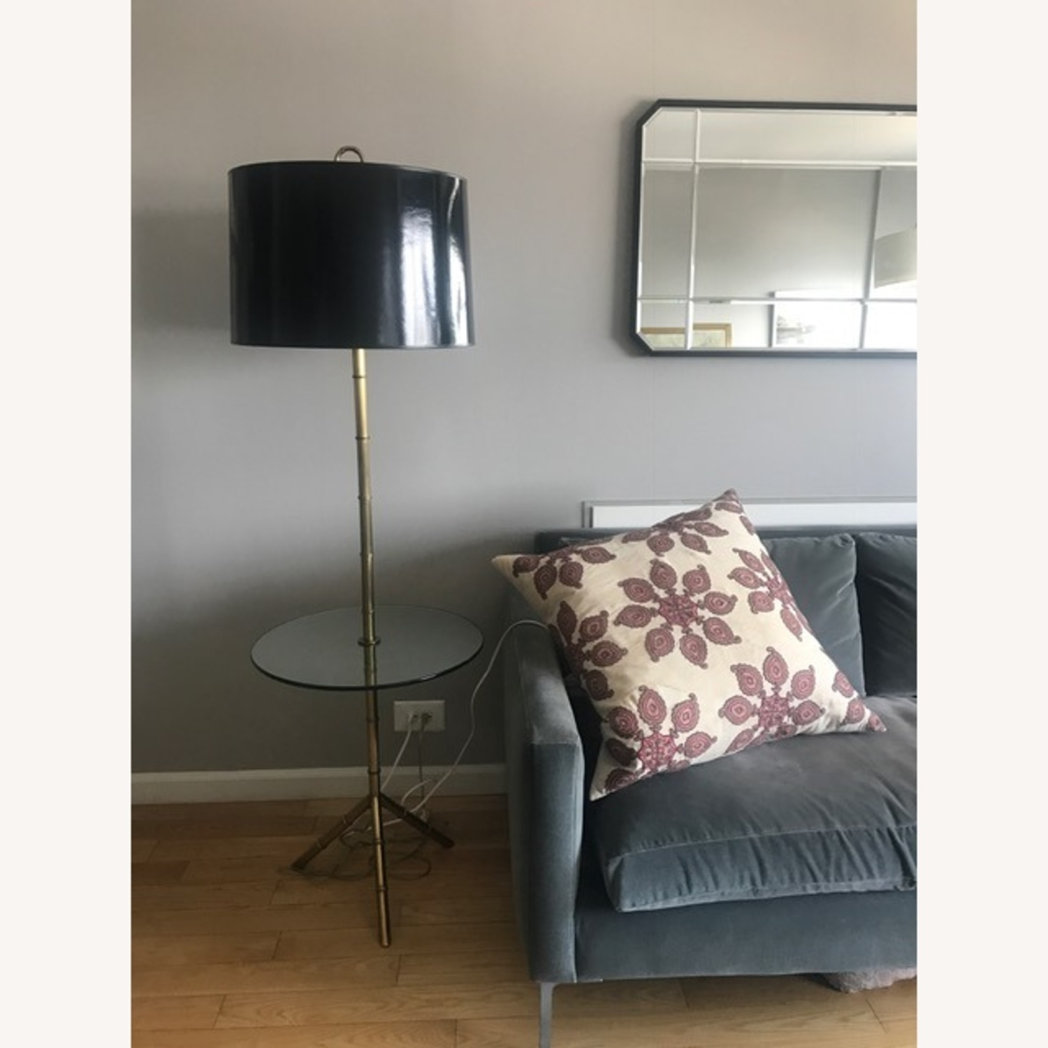 Jonathan Adler Meurice Floor Lamp with Table - image-1