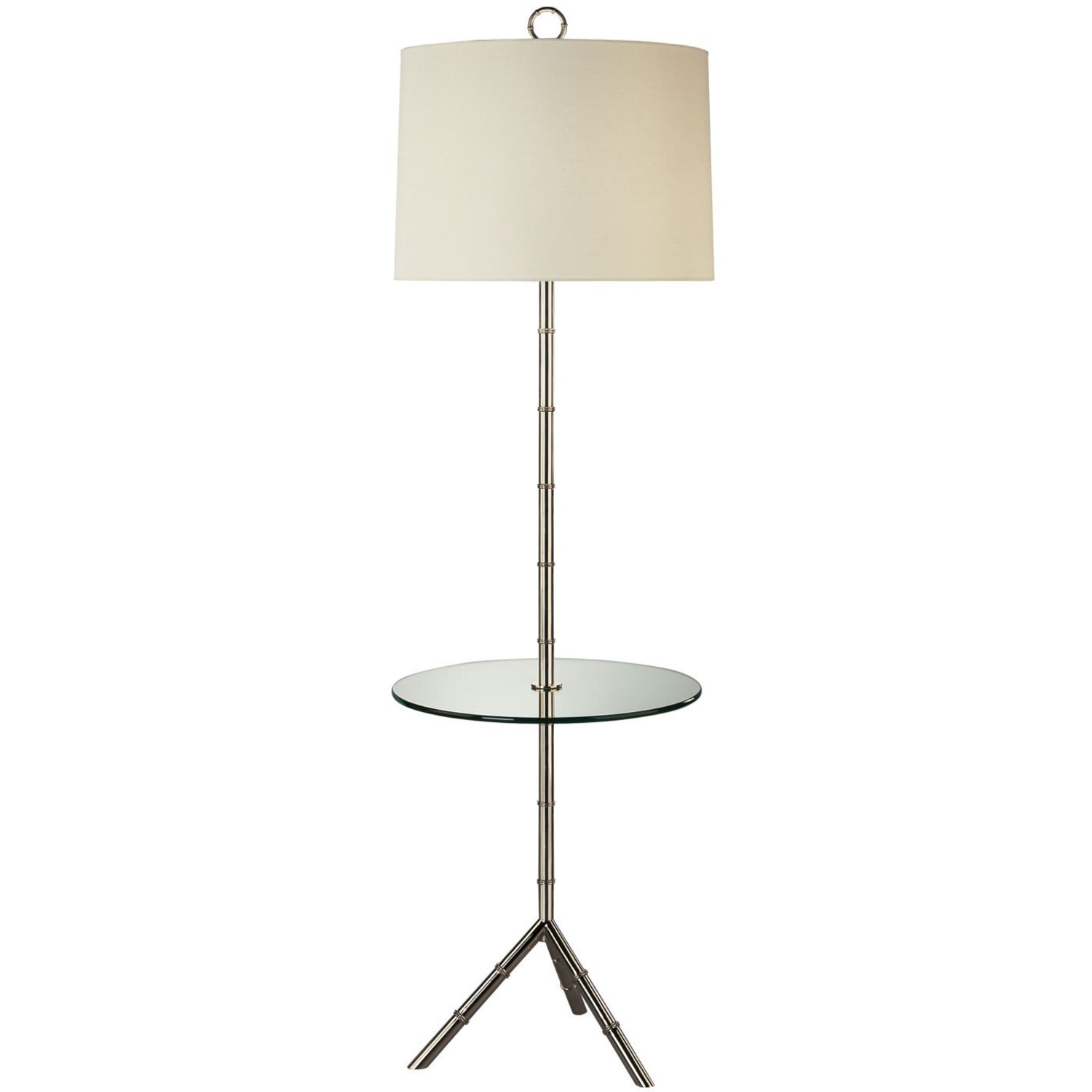 Jonathan Adler Meurice Floor Lamp with Table - image-0