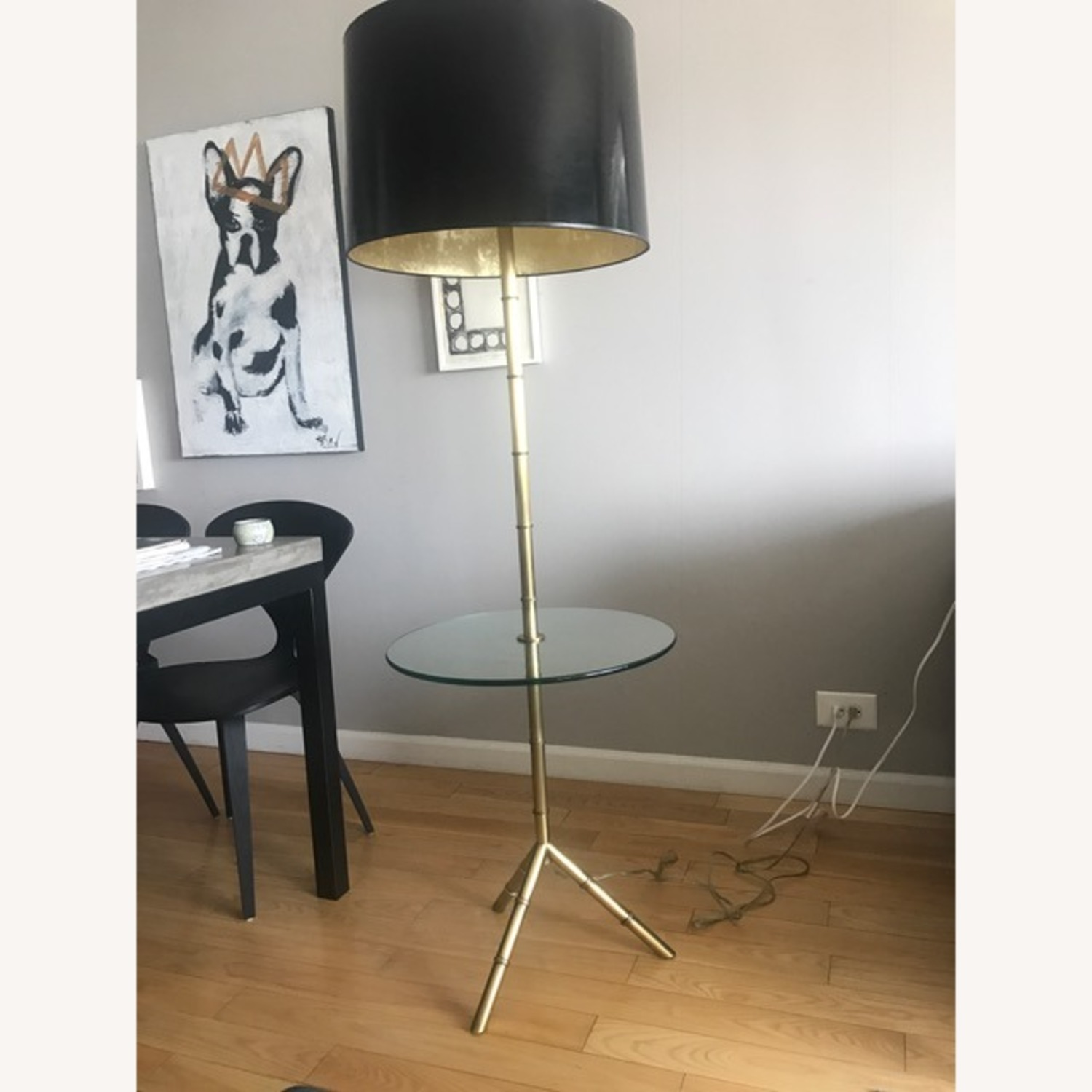 Jonathan Adler Meurice Floor Lamp with Table - image-2