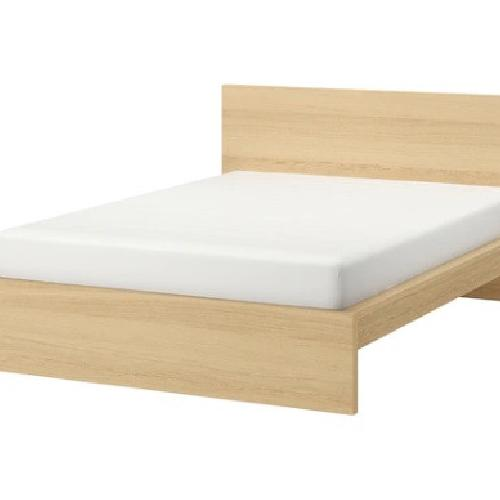 Used IKEA MALM Queen Bed Frame for sale on AptDeco