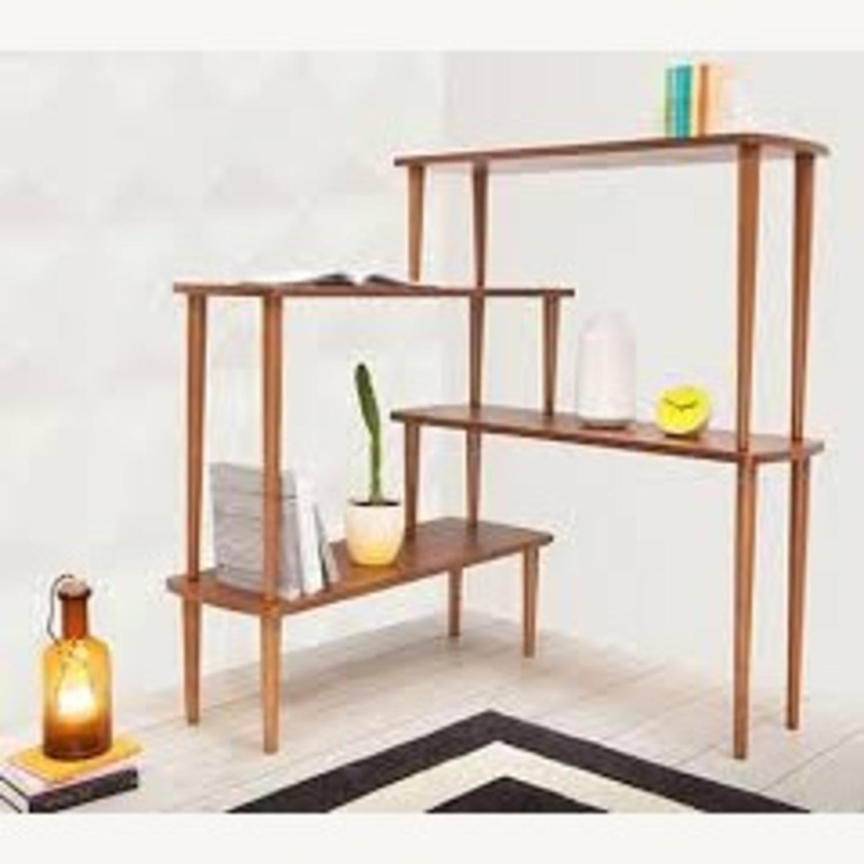 Mid Century Modern Bookshelf Room Divider Aptdeco