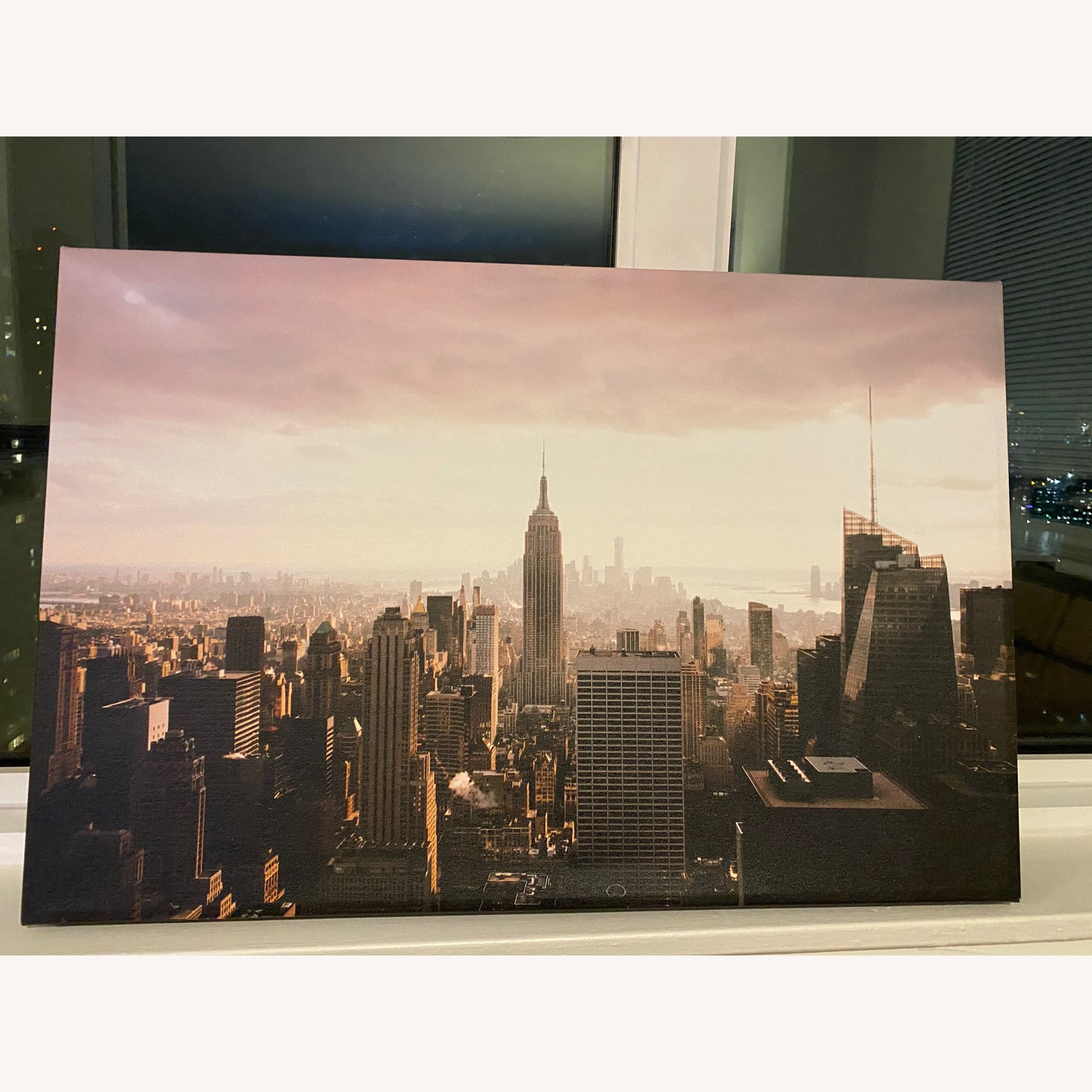 NYC View Canvas Wall Art