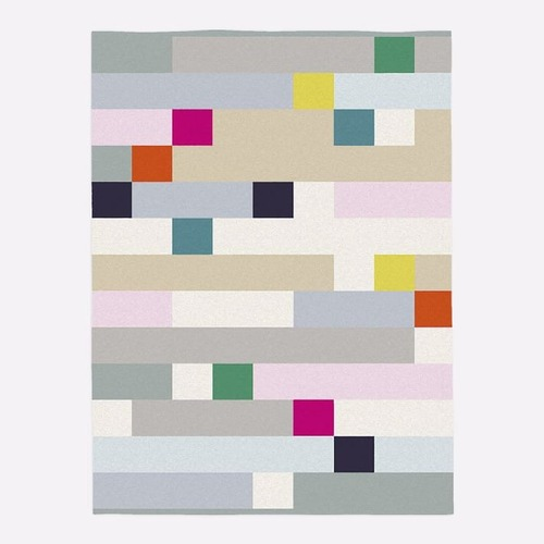 Used West Elm Margo Selby Squares Rug for sale on AptDeco