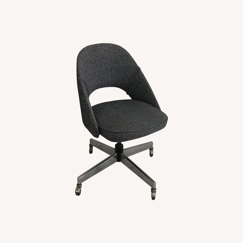 Mid Century Knoll Saarinen Style Office Chair - image-0