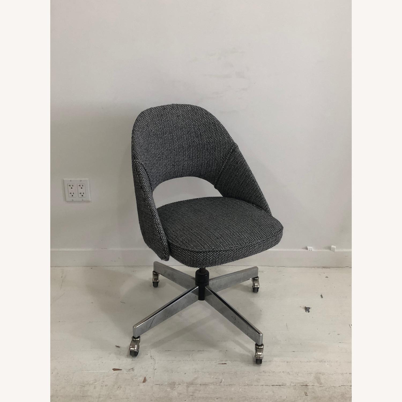 Mid Century Knoll Saarinen Style Office Chair - image-1