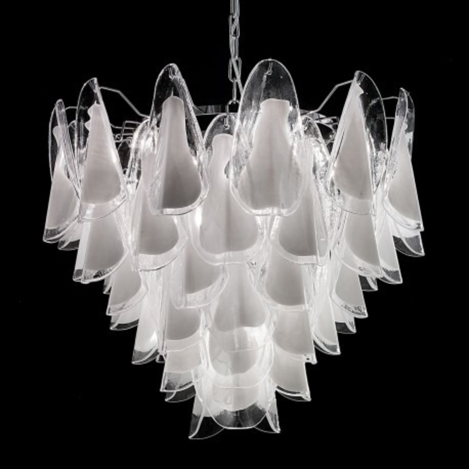 Lauryn Murano Glass Chandelier