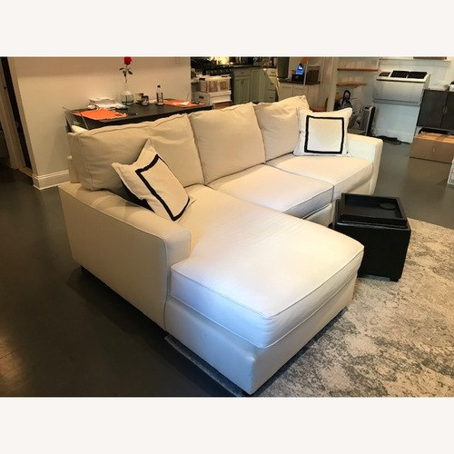 Used Pottery Barn Comfort Collection 3 Piece Sectional for sale on AptDeco