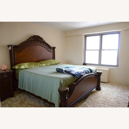 Used Ashley Furniture King Bed for sale on AptDeco