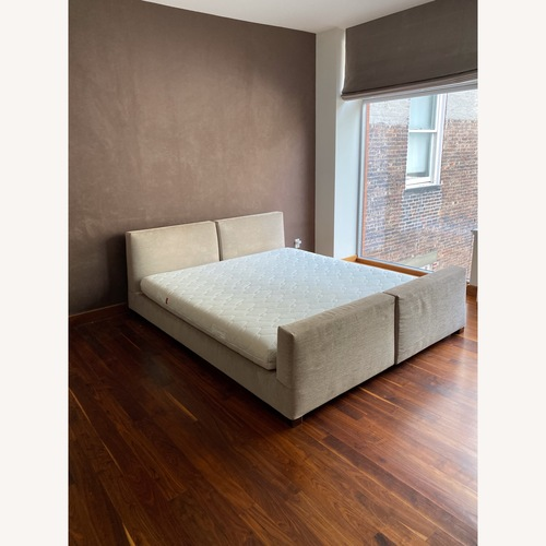 Used Minotti King Size Bed for sale on AptDeco