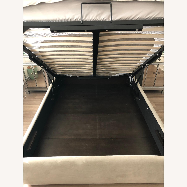 West Elm Storage Bed