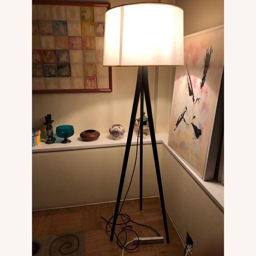 Used West Elm Tripod Floor Lamp for sale on AptDeco