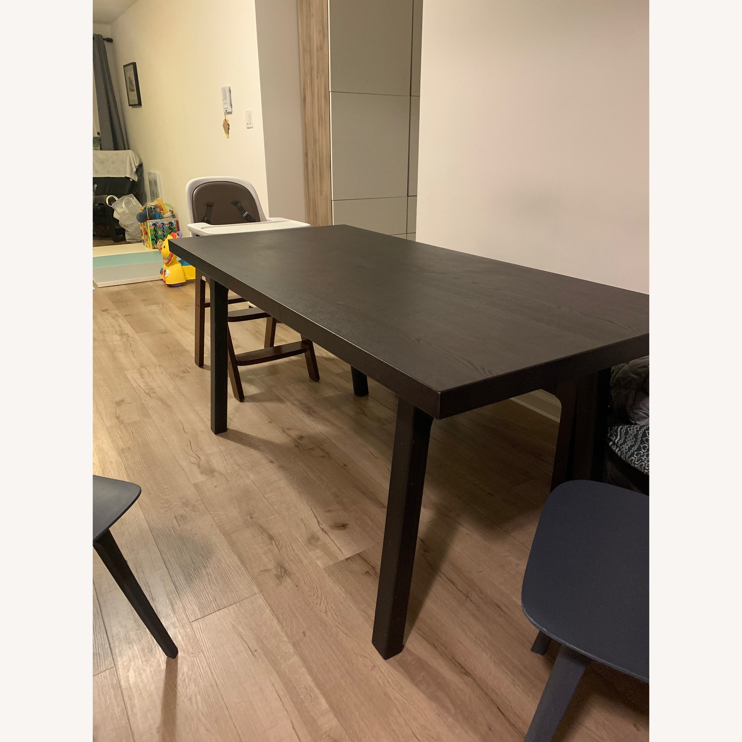 IKEA Vastanby dinning table + assorted Bench