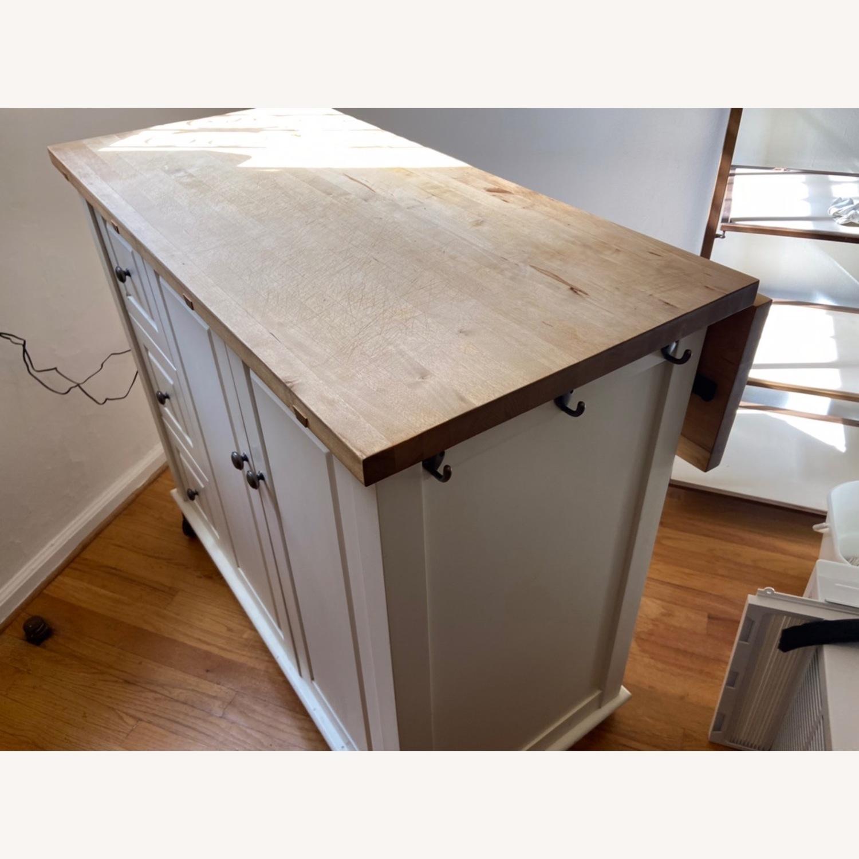 Crate & Barrel Kitchen Island