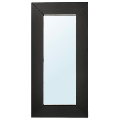 Used IKEA Mongstad Black Brown Floor Mirror for sale on AptDeco
