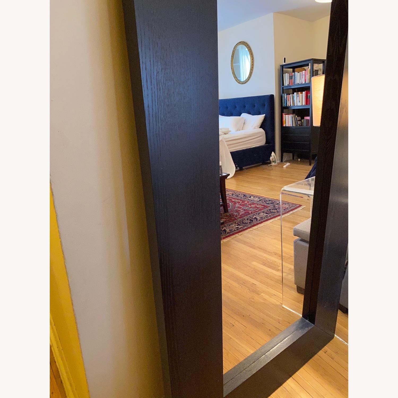 IKEA Mongstad Black Brown Floor Mirror