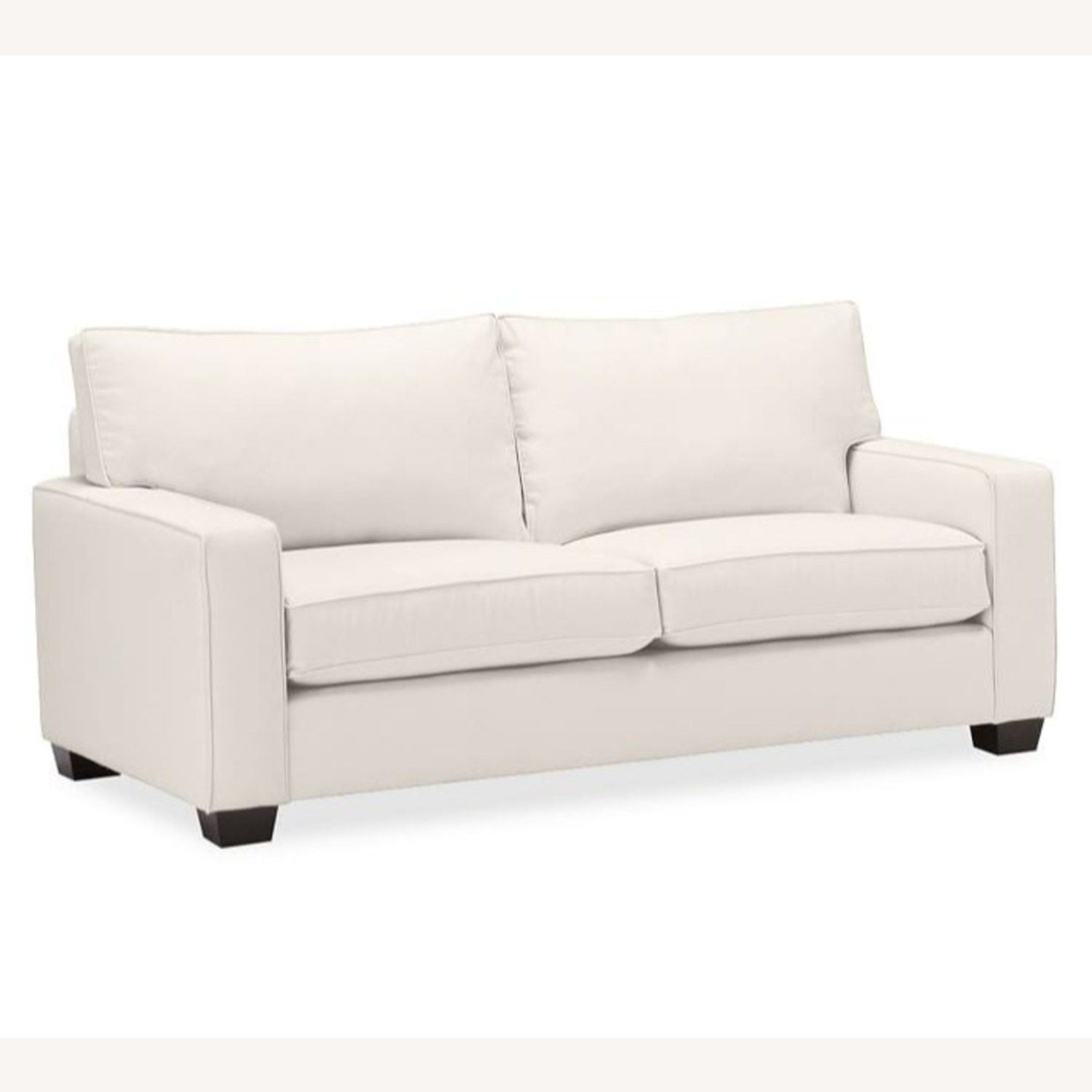 """Pottery Barn Comfort Square Arm Upholstered Sofa 78"""""""