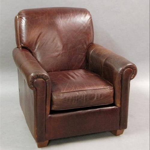 Used Bauhaus Leather Club Chair for sale on AptDeco