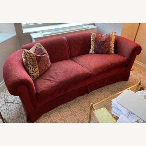 Used Taylor Made Maroon Sofa for sale on AptDeco