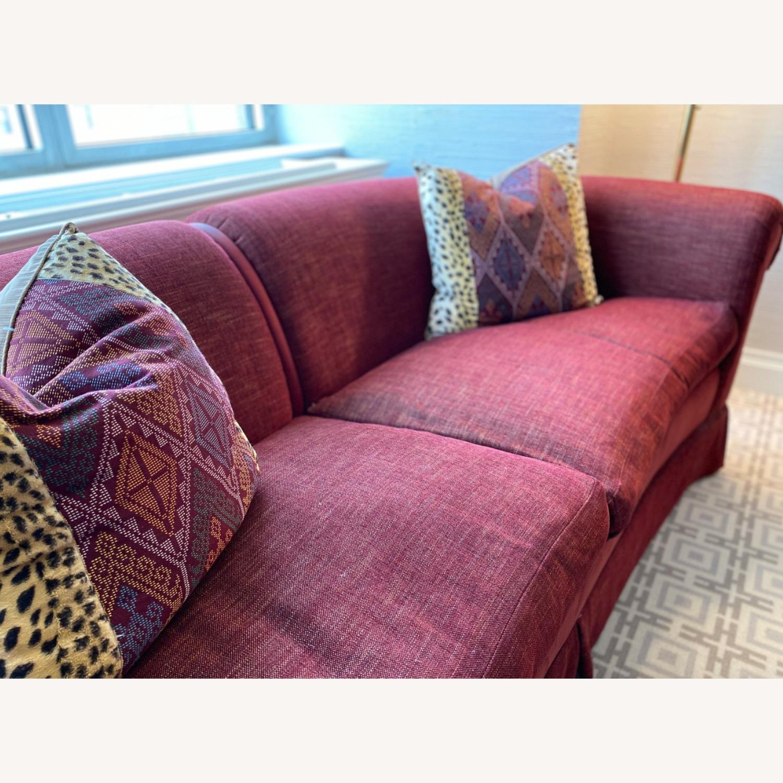 Taylor Made Maroon Sofa