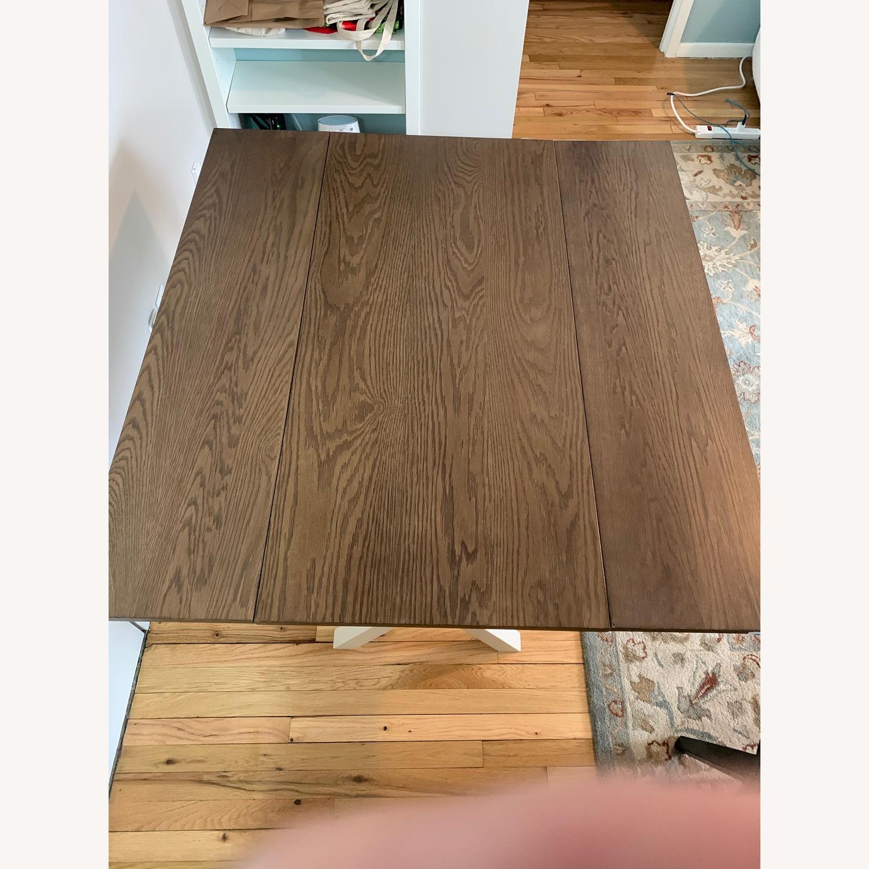 Wayfair Yorkshire Drop Leaf Solid Wood Dining Table