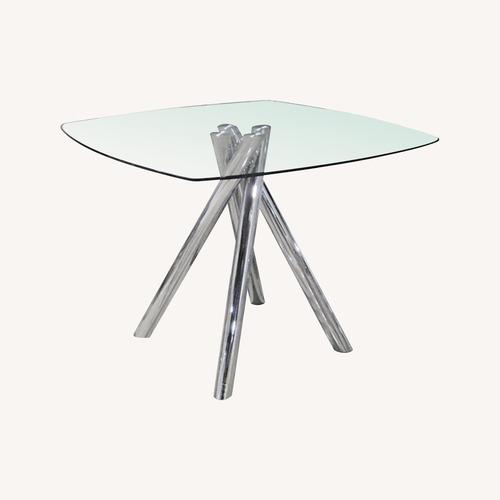 Used Wayfair Huebner Dining Table for sale on AptDeco