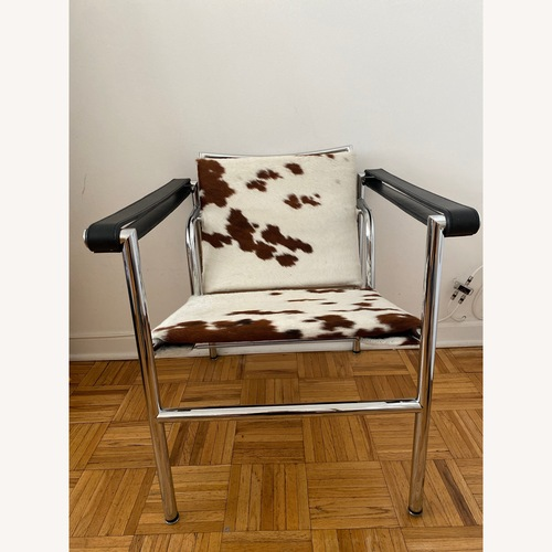 Used Wassily Inspired Cowhide Chair for sale on AptDeco