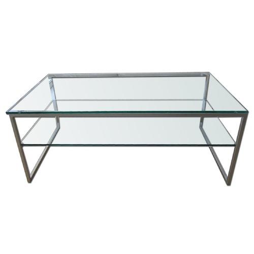 Used BoConcept Glass Coffee Table for sale on AptDeco
