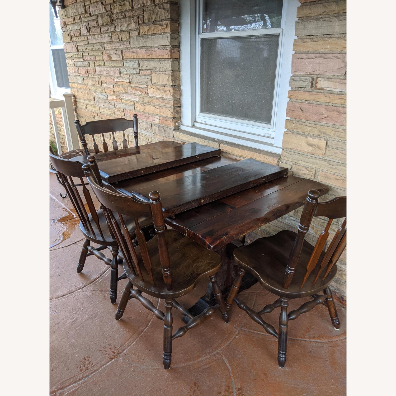 5-piece Antique Dining Set