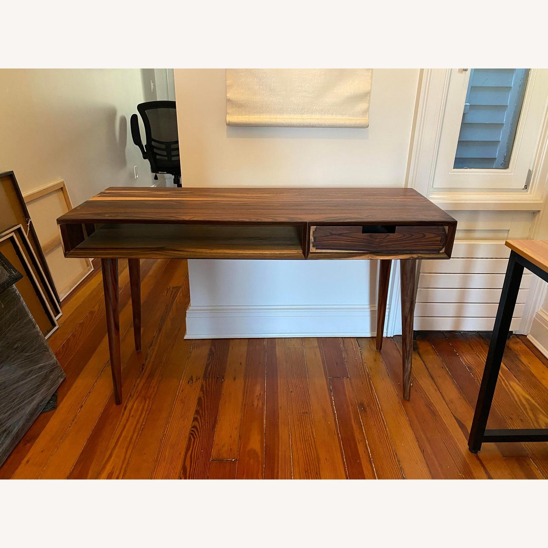Vintage Brown Desk