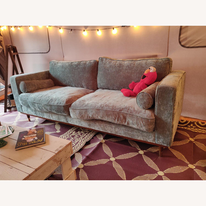 Brooklyn Space Introspect Mid-Century Modern Sofa