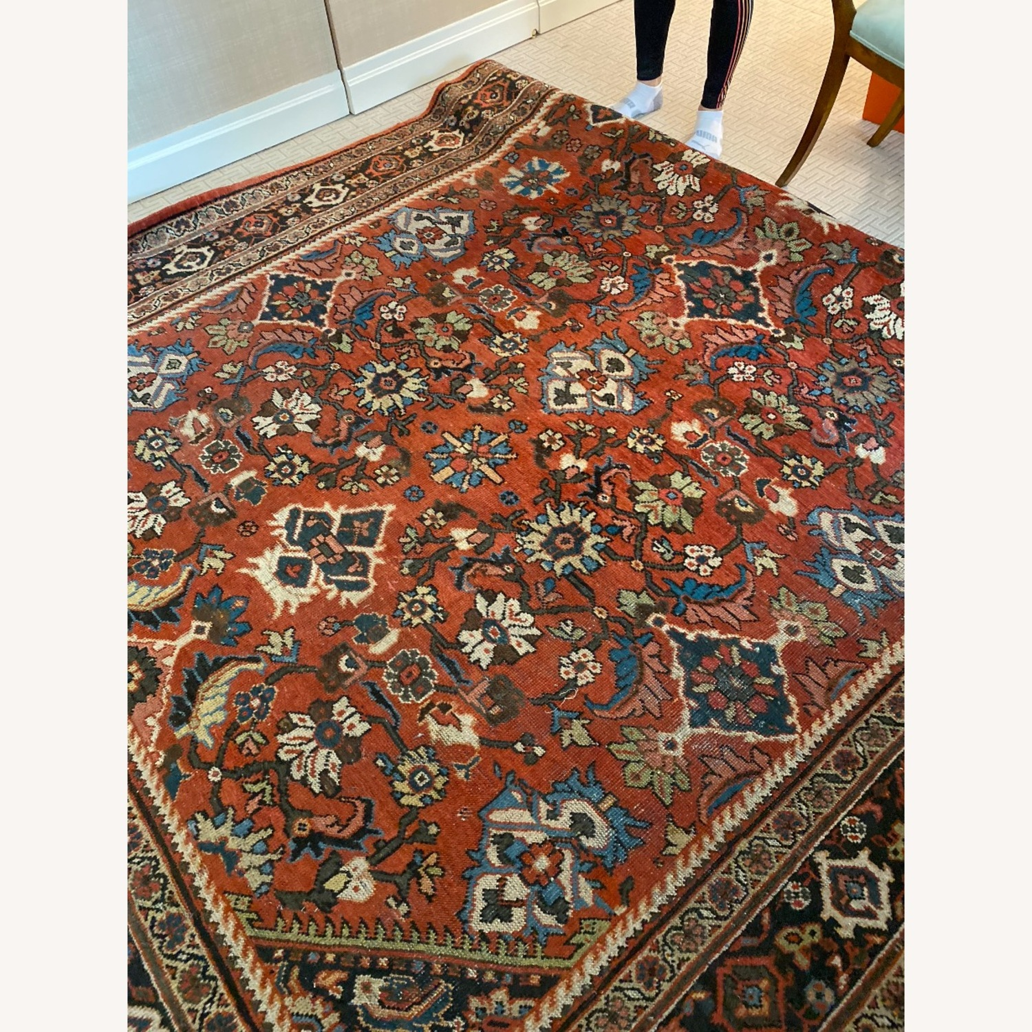 Taylor Made Red Persian Rug