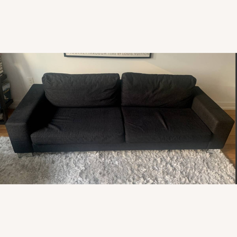 BoConcept Modern Black Sofa