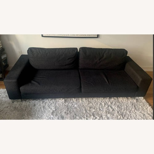 Used BoConcept Modern Black Sofa for sale on AptDeco