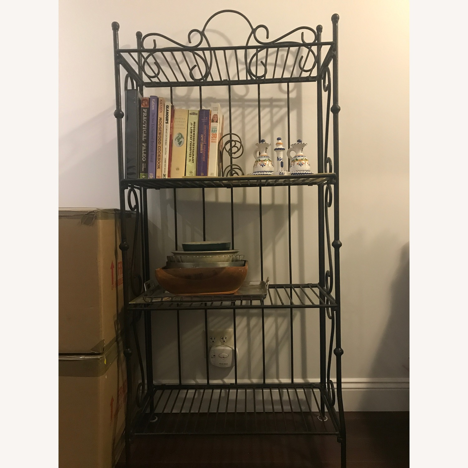 Wrought Iron Bakers Rack - image-1