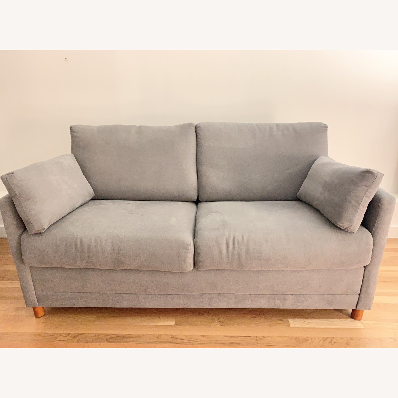 Jennifer Furniture Softee Full Sofa Sleeper - AptDeco