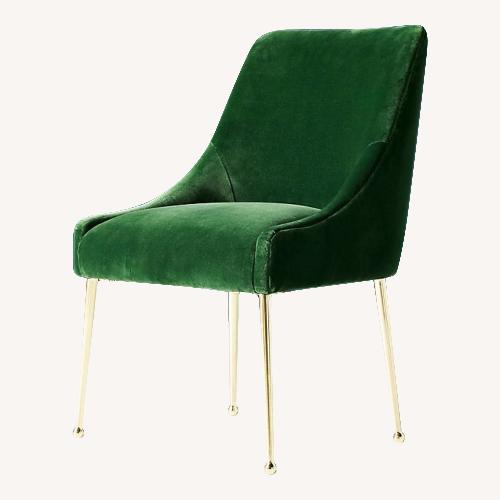Used Anthropologie Emerald Dining Chairs for sale on AptDeco