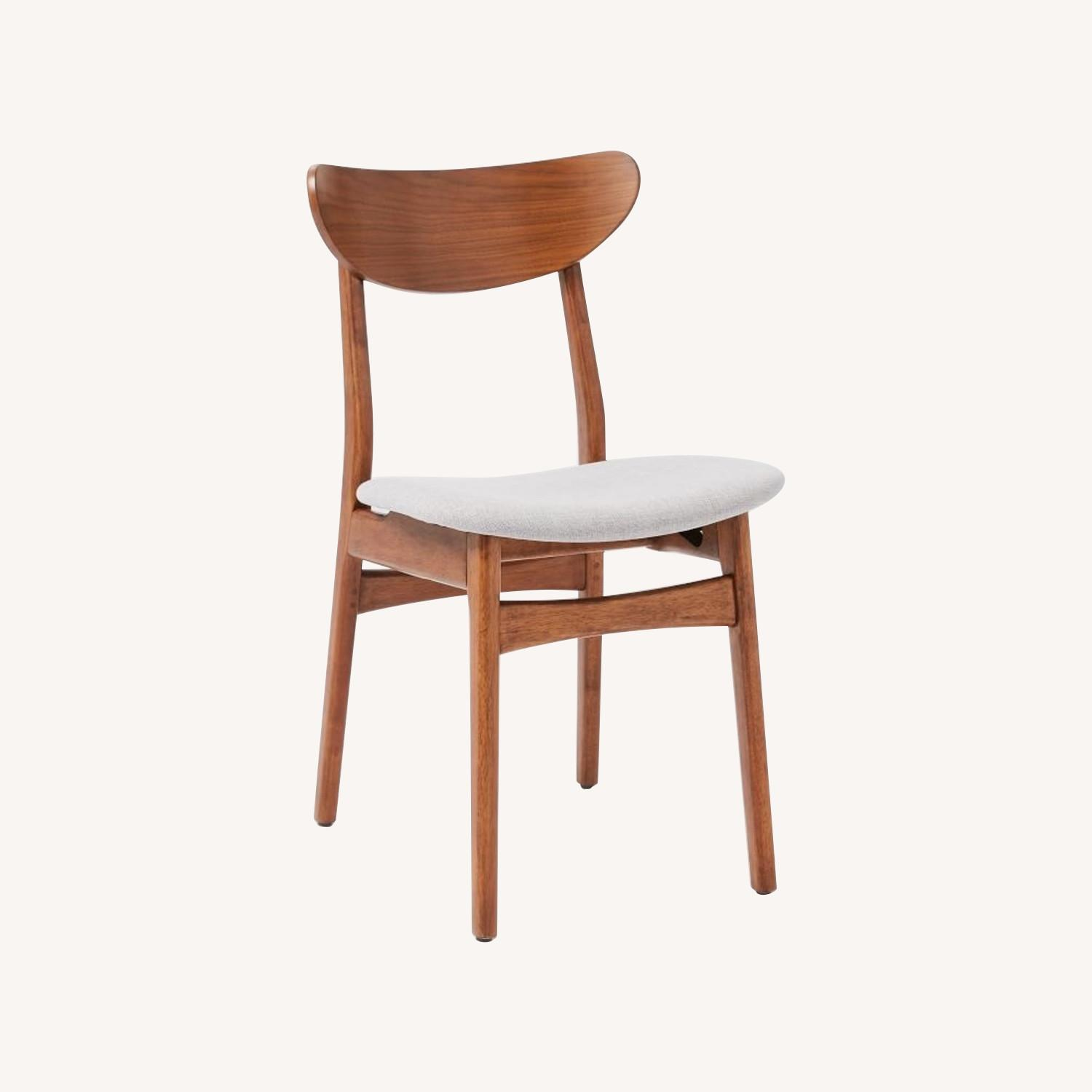 West Elm Classic Cafe Upholstered Dining Chair - image-12