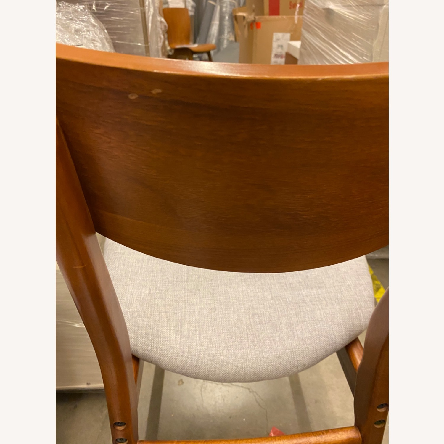 West Elm Classic Cafe Upholstered Dining Chair - image-13