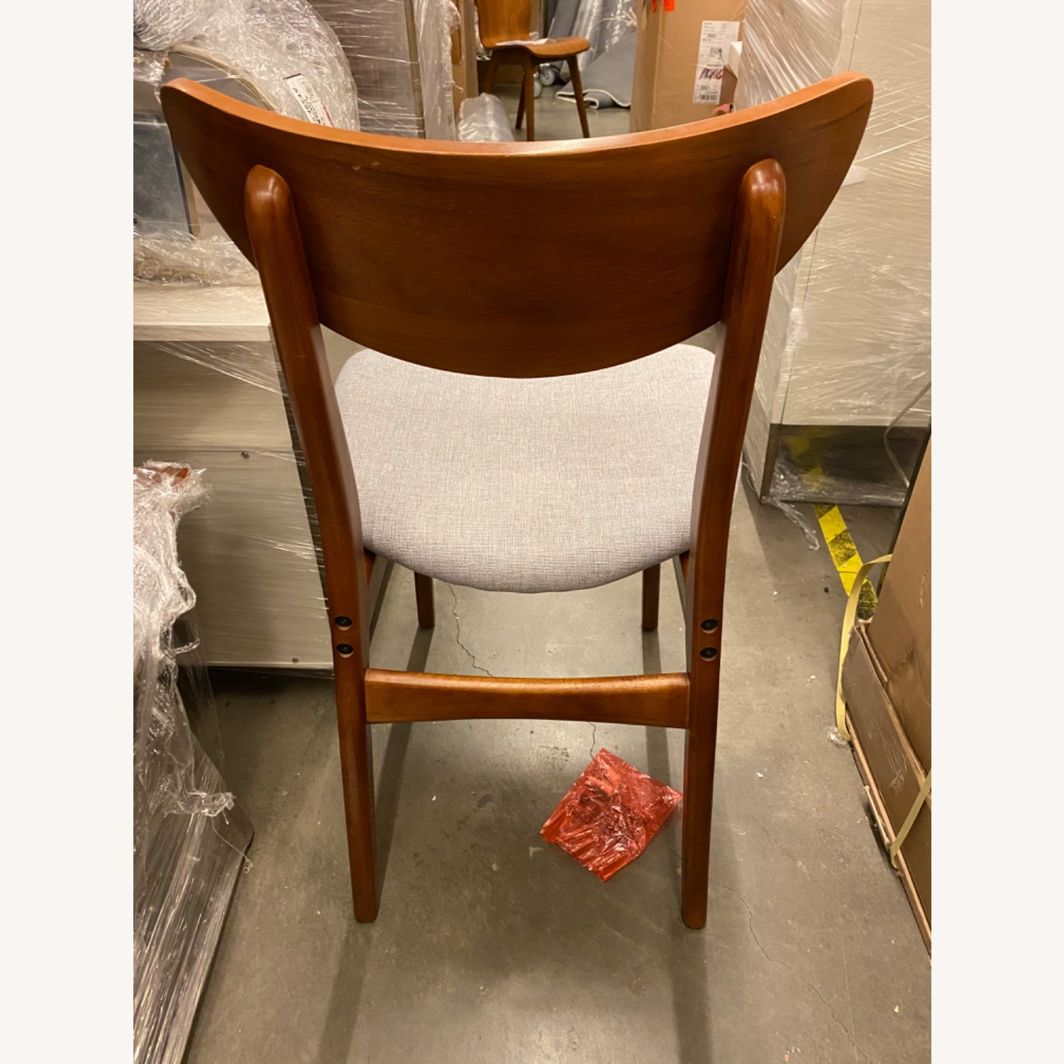 West Elm Classic Cafe Upholstered Dining Chair - image-15