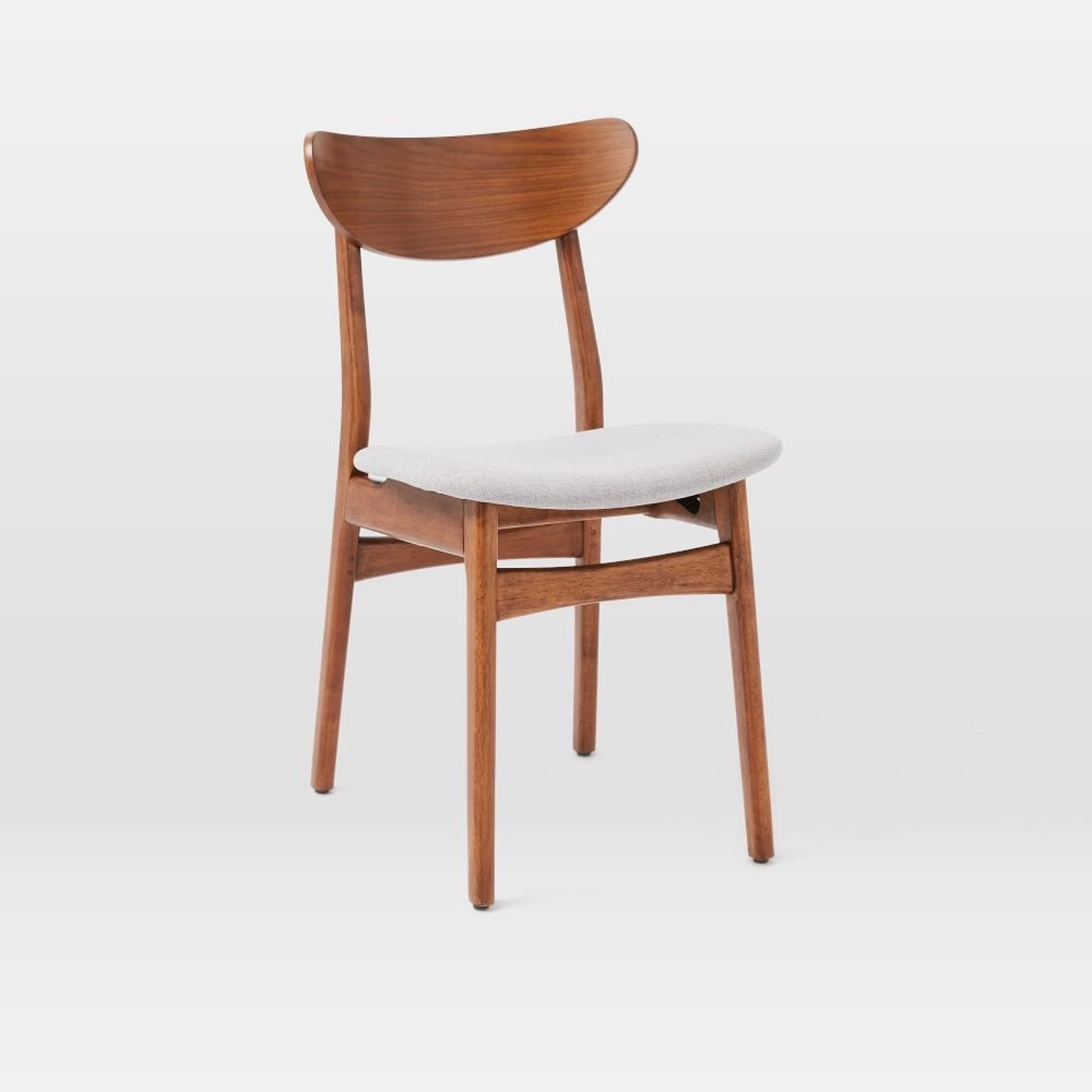 West Elm Classic Cafe Upholstered Dining Chair - image-1