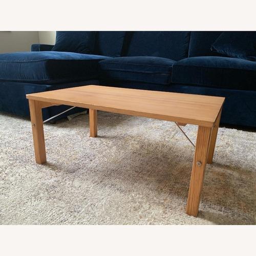 Used Muji Pinewood Low Coffee Table for sale on AptDeco