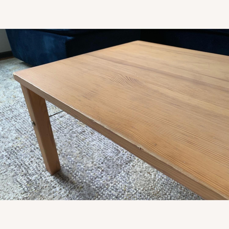 Muji Pinewood Low Coffee Table - image-3