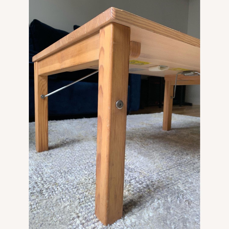 Muji Pinewood Low Coffee Table - image-4