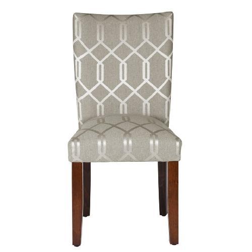 Used HomePop Lattice Parson Chairs for sale on AptDeco